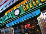 Tick Tock Diner, Manhattan, New York City Photographic Print by Sabine Jacobs