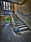 Canteen Steps Photographic Print by Nathan Wright