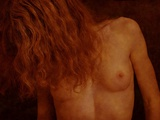 A Naked Female with Long Hair Photographic Print by Katrin Adam