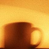 Shadow of a Coffee Mug Photographic Print by Katrin Adam