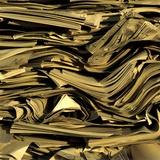 Slippery Paper Photographic Print by Bernard Jaubert