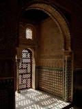 Inside the Alcazar Palace Seville Photographic Print by Tim Kahane