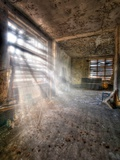 Urbex Sun Photographic Print by Nathan Wright