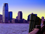 New Jersey's Skyline from Manhattan, New York City Photographic Print by Sabine Jacobs