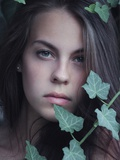 Green Eyes Girl Photographic Print by Clarissa Costa