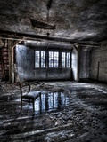 Ice Chair Photographic Print by Nathan Wright