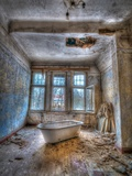 Lunatic Bath Time Photographic Print by Nathan Wright