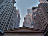 Wall Street, New York City Photographic Print by Sabine Jacobs
