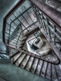 Crazy Stairs Photographic Print by Nathan Wright
