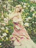 Magnolia Photographic Print by Sabina Rosch