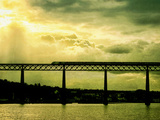 South Queensferry Rail Bridge Photographic Print by Cristina Carra Caso