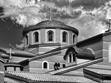 A Church Roof with Crosses Photographic Print by Rip Smith
