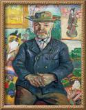 Pere Tanguy, 1887-88 Framed Giclee Print by Vincent van Gogh