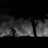 Ride into Night Photographic Print by Sharon Wish
