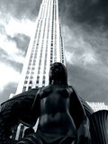 Statue in Fron of Rockefeller Center, Manhattan, New York City Photographic Print by Sabine Jacobs