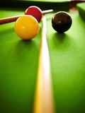 Billiard Balls Photographic Print by Steve Allsopp