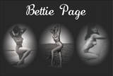 Bettie Page Triptych Plakater
