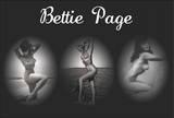 Bettie Page Triptych - Reprodüksiyon
