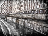 The Fountain with the 99 Spouts Photographic Print by Andrea Costantini