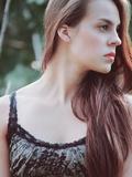 Girl Profile Photographic Print by Clarissa Costa