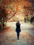 Autumn Walk Photographic Print by Dimitri Caceaune