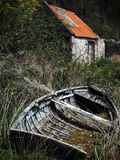 The Boat Shed Photographic Print by Malcolm McBeath