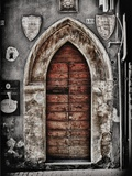 Ancient Door in L'Aquila Photographic Print by Andrea Costantini