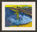 Van Gogh: The Sower, C1888 Framed Giclee Print by Vincent van Gogh