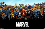 Marvel Comics Universe Print