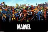 Marvel Comics Universe Print