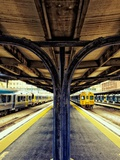 Train Platform Photographic Print by Steve Allsopp