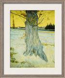 The Old Yew Framed Giclee Print by Vincent van Gogh