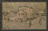 Vincent's House at Arles Framed Giclee Print by Vincent van Gogh