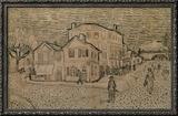 Vincent's House at Arles Framed Giclee Print by Vincent van Gogh