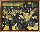The Dance Hall at Arles Framed Giclee Print by Vincent van Gogh