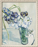 Vase of Carnations, c.1890 Framed Giclee Print by Vincent van Gogh
