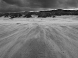 Wind Blown Sand on a Beach Photographic Print by Katrin Adam