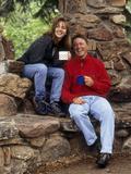 Couple Hiking Photographic Print
