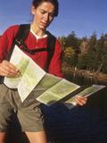 Female Hiker Photographic Print