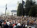 Start of the 1981 Boston Marathon in Hopkinton, MA Photographic Print