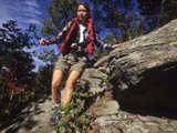 Female Hiker Photographic Print