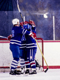 Ice Hockey Players Photographic Print