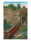 Chattanooga, Tennessee - Lookout Mountain Incline Rail Ascending Posters by Lantern Press