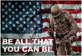 Be All You Can Be Soldier Posters