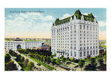 Winnipeg, Manitoba - Fort Garry Hotel, Union Depot Exterior Posters par  Lantern Press