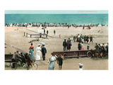 Palm Beach, Florida - Crowds on the Beach Posters by  Lantern Press