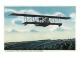 Successful Practice Flight over a Aviation Field Kunstdrucke von  Lantern Press
