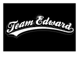 Team Edward - Forks, Washington Posters par Lantern Press