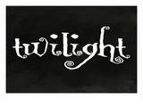 Lantern Press - Twilight - Forks, Washington - Art Print