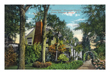 Saratoga Springs, New York - View of Inniscarra, Olcott Residence Posters by  Lantern Press